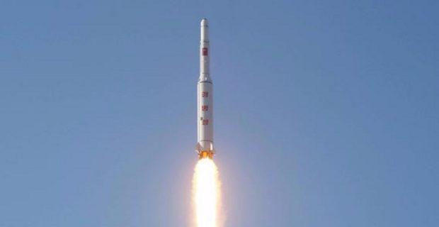 Утром 14 мая КНДР произвела запуск ракеты