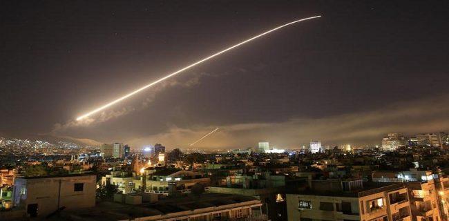 По Сирии нанесен ракетный удар