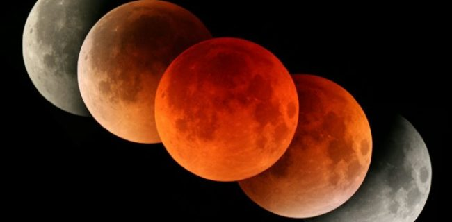 28 июля 2018 года в Приморье произойдет лунное затмение