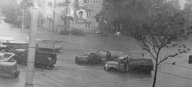 История тайфунов и мощных циклонов на Дальнем Востоке