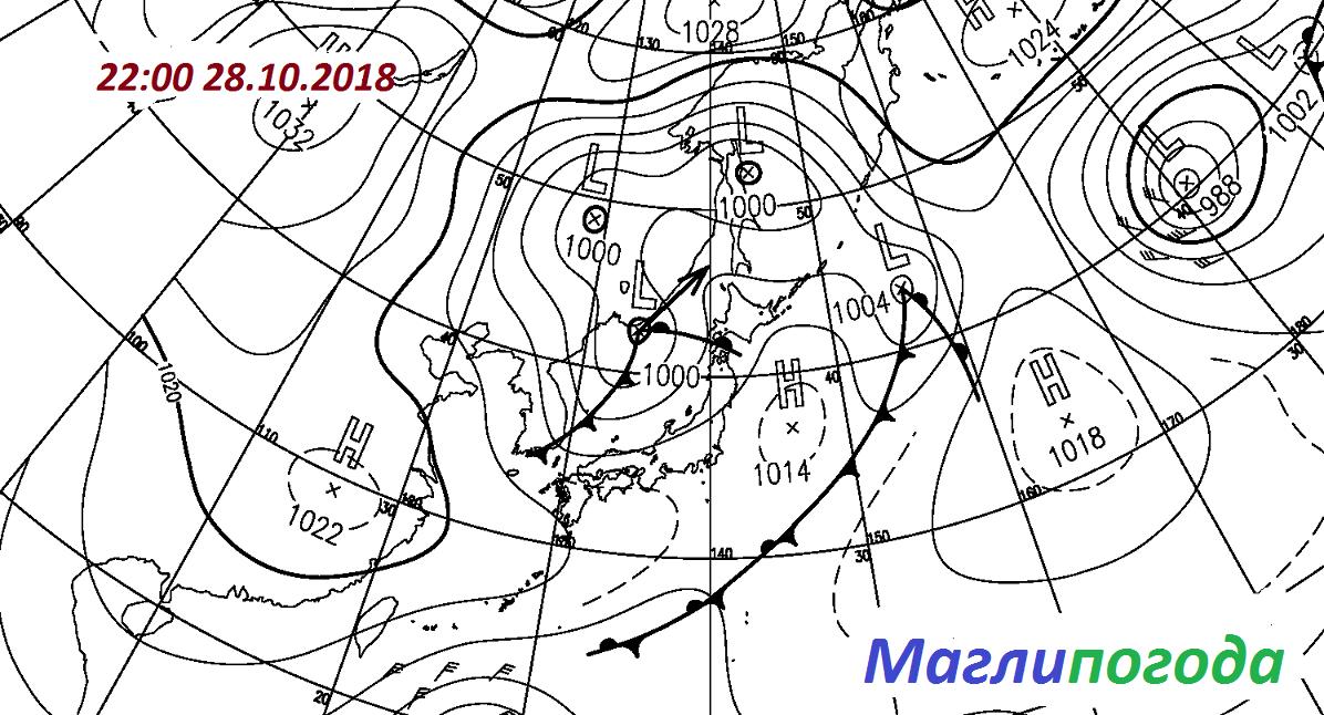 Недельный прогноз погоды в Приморском край