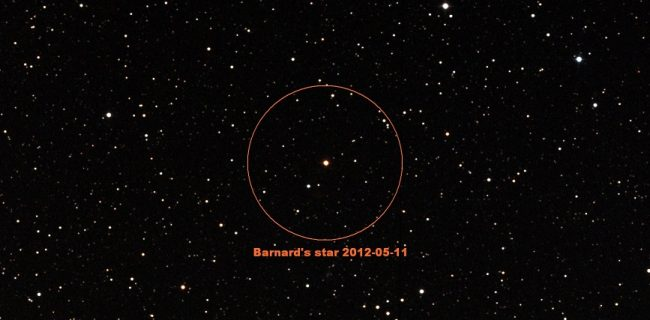 Звезда Барнарда имеет планету, похожую на Землю