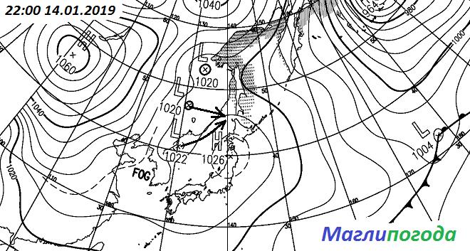 Уточнение погоды в Приморском крае на 15 января