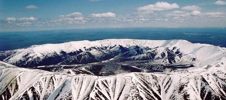 Древние вулканы Хабаровского края