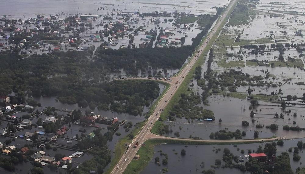 Хроника наводнений на реке Амур