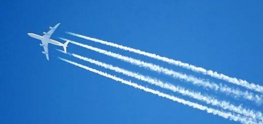 Конденсационные следы в атмосфере